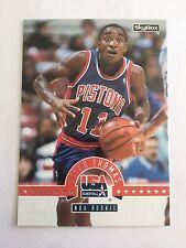 1994 SkyBox International USA Basketball - #44 Isiah Thomas, NBA Rookie