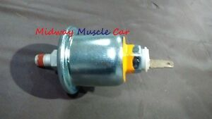 60 psi oil pressure sending unit 65-67 Chevy chevelle Nova Camaro GTO w/ gauges
