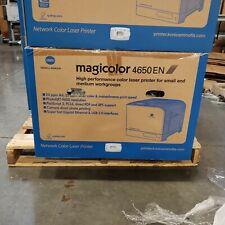 Konica Minolta Magicolor 4650EN Printer Brand NEW Missing All Supplies! AOOF011