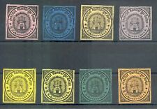 GERMANY 8 x LOCAL STAMPS -STADTPOST - HAMBURG -H. SCHEERENBECK --VF