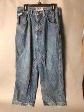 Old Navy 34 x 30 Blue Jeans Plain Pocket Strange Rear Pocket Tracks