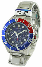 Seiko Solar Chronograph Divers SSC019P1 SSC019P Men's Watch