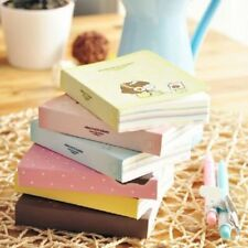 """Korean Girl"" 1pc Mini Diary Notebook Cute Pocket Planner Journal Memo Cute Gift"