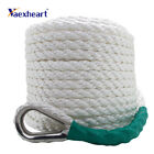 New White Twisted Boat Marine Anchor Line Dock Anchormooring Rope 31m X 10mm