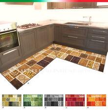 Tappeto cucina ANGOLARE o PASSATOIA SU MISURA al metro antiscivolo mod.TAPIRO 25