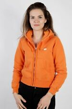 Vintage Adidas Tracksuits Top Shell Hoodies Casual Retro UK XS Orange - SW2258