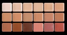 Graftobian HD Glamour Creme Super Palette, Cool -18 Cool Colors.