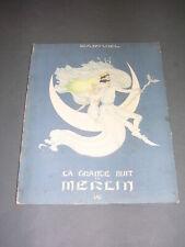 Samivel la Grande nuit de Merlin 1943 illustrations couleurs Samivel