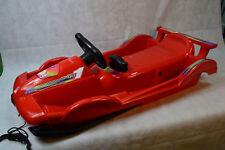Alpen Gaudi AlpenRace Lenkrodel Rot 100 CM Bob Lenkbob bis 50Kg belastbar Rodel