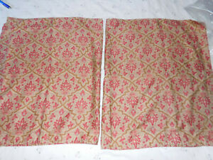 Vintage Langham King Pillow Shams-Ralph Lauren-100% Cotton-2 pairs Available