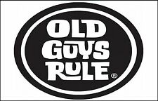 HUMOROUS FRIDGE MAGNET - OLD GUYS RULE