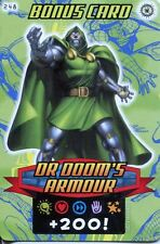 Spiderman Heroes And Villains Card #248 Dr. Dooms Armour