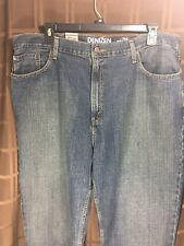 NWT MEN'S BLUE JEANS-DENIZEN BY LEVI'S BRAND-285 RELAXED FIT-SIZE 42 X 30