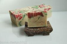 """Handgemachte Schafmilchseife """"ROSE"""" ca. 90 g, aus der Seifenmanufaktur"""