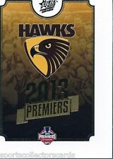 2013 AFL SELECT HAWTHORN PREMIERSHIP PREMIERS SET 25 CARDS LIMITED EDITION
