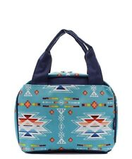 Insulated Lunch Bag Lunch Box NGIL NTW Free Shipping! Tribal Aztec with Serape