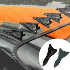 10pcs Shark Fin Diffuser Vortex Generator for Windscreen RoofSpoiler Bumper