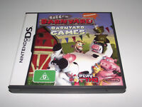 Back at the Barnyard: Baryard Games Nintendo DS 2DS 3DS Game *Complete*