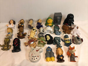 Burger King 2005 Star Wars Episode III, (lot of 27) from a 31 piece toy set