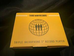 "New Third Man Records RSD 2019 3"" Inchophone Mini Record Player NIB Sold Out TMR"