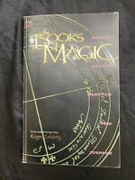 Neil Gaiman's Books of Magic Rare Black Cover Graphic Novel/tpb Hard to Find OOP