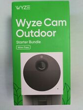 Wyze Cam Outdoor Wire-Free Starter Bundle Security Camera New Sealed