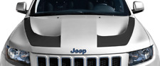 Hood Hockey Stick Stripe Vinyl Graphic Decal for Jeep Grand Cherokee SRT 2015 Up