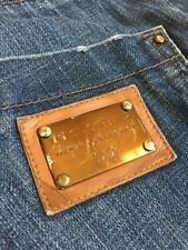 Dolce Gabbana Mens Collection Blue Denim Jeans 52 Made In Italy Straight Leg D&G