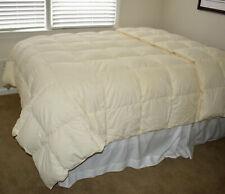 Pillowtex White Goose Down Comforter Queen 100x86