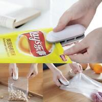 Portable Mini Heat Sealing Machine Handheld Sealer Seal Packing Plastic Bag Tool
