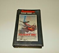 Flight 91 VHS Pal Roadshow Big Box ex rental