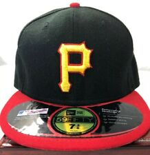Pittsburgh Pirates 59Fifty New Era Official On-Field Cap Hat MLB Baseball 7 3/8