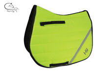 HY Speed Hi Viz Vis Yellow Dressage GP Saddlecloth Pad/Square Colours FREE P&P