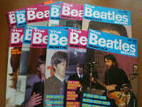 THE BEATLES BOOK MONTHLY MAGAZINE COMPLETE YEAR 1989 # 153-164 All 12 editions