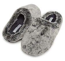 laura ashley slippers Memory Foam Gray Large (8-9)