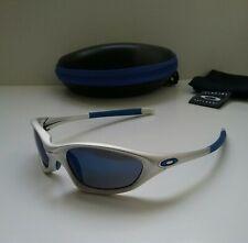 NEW OAKLEY XX TWENTY FMJ 5.56 Silver w/ ICE Irid Sunglasses splice plate minute