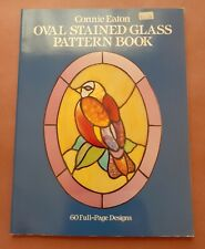 Oval Stained Glass Pattern Book by Connie Eaton