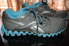 d1b2ca7d511 Reebok Zignano Athletic Running Boys Sz 4.5 Gray Silver Blue
