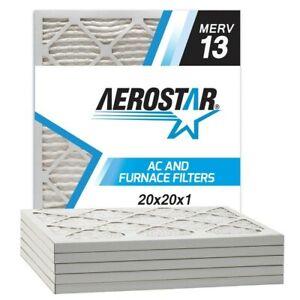 Merv 8/ AC et four de filtre /à air en Aerostar 2,5/cm 16x20x1 MERV 8 lot de 6