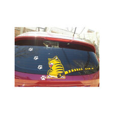 Funny Car Rear Windshield Wiper Decal Stickers Cat Paw Tail Wagging Wiper Decor~