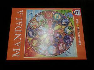 Sternzeichen Sternenkreis Tierkreiszeichen Puzzle Mandala Astrologie