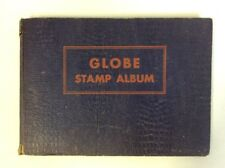 Globe Stamp Album: Copyright 1931 Book W/Over 300 Worldwide Stamps-Used