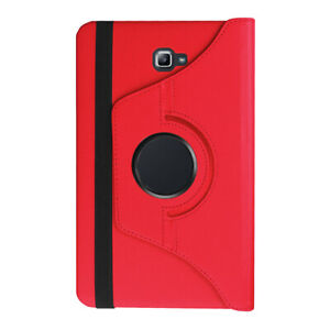 Leather 360 Rotating Smart Flip Stand Case Cover For Samsung Galaxy Tab A Series