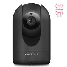 Foscam R2 1080P HD IP Camera Pan Tilt Zoom 8 Metre Night Vision CCTV - Black