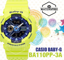 Casio Baby-G New BA-110 Punching Pattern Series Watch BA110PP-3A AU FAST & FREE