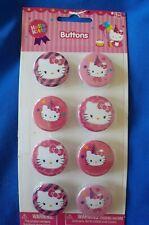 Sanrio Hello Kitty Happy Birthday Style Button Pins 1 inch