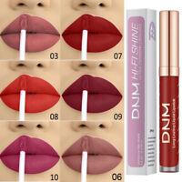 12couleur Rouge à lèvres liquide brillant à lèvres brillant à lèvre mat étanche