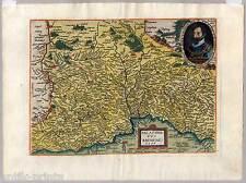 Oberpfalz-Bayern - Kupferkarte-Map - M. Quad - J. Bussemacher 1596