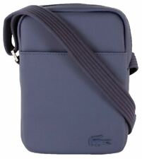 Lacoste Mens Classic Petit Pique Vertical Zip Bag - Peacoat Navy