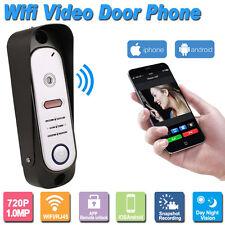 HD 720P Wireless Outdoor Doorbell Camera WiFi Smart Video Door Phone Intercom